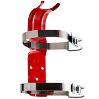 Buckeye 5 lb. and 5.5 lb. Dry Chemical, Halotron, and MiniGuard Double Strap Fire Extinguisher Vehicle Bracket