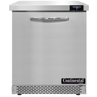 Continental Refrigerator SWF27N-FB 27 inch Front Breathing Undercounter Freezer