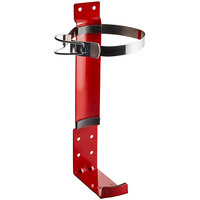 Buckeye 5 lb. and 5.5 lb. Dry Chemical, Halotron, and MiniGuard Top Strap Fire Extinguisher Vehicle Bracket
