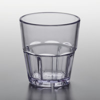 GET 9955-1-CL Bahama 5.5 oz. Clear Customizable SAN Plastic Tumbler - 72/Case