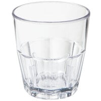 GET 9955-1-CL 5.5 oz. Clear Break-Resistant Plastic Bahama Tumbler - 72 / Case