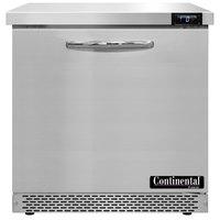 Continental Refrigerator SWF32N-FB 32 inch Front Breathing Undercounter Freezer
