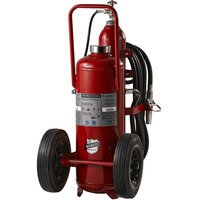 Buckeye 125 lb. Purple K Fire Extinguisher - Rechargeable Untagged Stored Pressure - UL Rating 320-B:C - Rubber Wheels