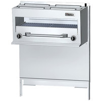 Garland GFIR60 Natural Gas Range-Mount Infra-Red Salamander Broiler for GF / GFE60 Series Ranges - 28,000 BTU