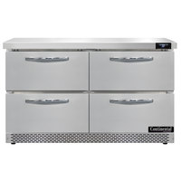 Continental Refrigerator SW48-N-FB-D 48 inch Front Breathing Undercounter Refrigerator with Four Drawers