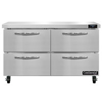 Continental Refrigerator SWF48N-D 48 inch Undercounter Freezer with Four Drawers