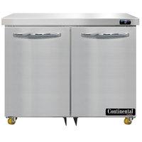 Continental Refrigerator SWF36N-U 36 inch Low Profile Undercounter Freezer