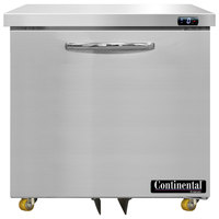 Continental Refrigerator SWF32N-U 32 inch Low Profile Undercounter Freezer