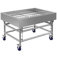 Winholt SSMIT-3648MLC 48 inch Stainless Steel Insulated Cold Food Display Table