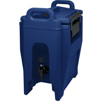 Cambro UC250186 Ultra Camtainers® 2.75 Gallon Navy Blue Insulated Beverage Dispenser