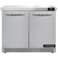 Continental Refrigerator SW36-N-FB 36 inch Front Breathing Undercounter Refrigerator