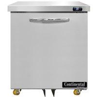 Continental Refrigerator SW27-N-U 27 inch Low Profile Undercounter Refrigerator