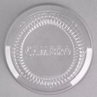 Cambro CLSRB5152 Clear Dome Lid for Cambro SRB5 5 oz. Plastic Swirl Bowls - 1000/Case