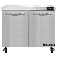 Continental Refrigerator SW36-N 36 inch Undercounter Refrigerator