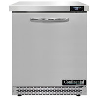 Continental Refrigerator SW27-N-FB 27 inch Front Breathing Undercounter Refrigerator