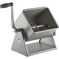 Backyard Pro BSMM-20T Butcher Series 20 lb. / 4.2 Gallon Manual Tilting Meat Mixer with Removable Paddles