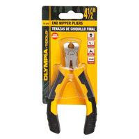 Olympia Tools 10-645 4 1/2 inch End Nipper Pliers
