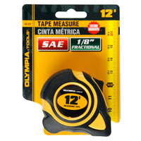 Olympia Tools 43-231 3/8 inch x 12' SAE Tape Measure