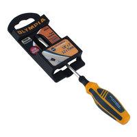 Olympia Tools 22-512 1/8 inch x 3 inch Gold Series Flathead Pocket Screwdriver