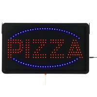 Aarco PIZ01L Large Pizza LED Sign
