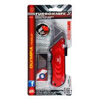 Olympia Tools 33-132 Turboknife X Red Utility Knife
