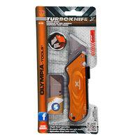 Olympia Tools 33-133 Turboknife X Yellow Utility Knife
