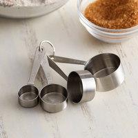 Vollrath 46589 Stainless Steel Measuring Spoon Set - 4 Piece