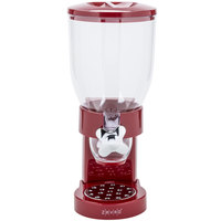 Zevro KCH-06120 Red Single Canister Dry Food Dispenser