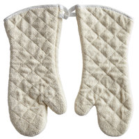 Choice 17 inch Terry Conventional Style Oven Mitts