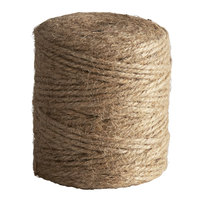 3-Ply Natural Biodegradable Jute Twine 1/2 lb. Tube
