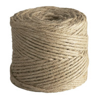 5-Ply Natural Biodegradable Jute Twine 1 lb. Tube