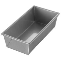 Chicago Metallic 40565 1 lb. Single Open Top Glazed Bread Pan - 9 inch x 4 1/2 inch x 2 3/4 inch