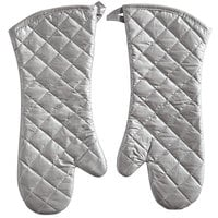 Choice 17 inch Silicone-Coated Oven / Freezer Mitts