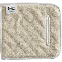 Choice 10 inch x 11 inch Terry Cloth Pan Grabber / Baker's Pad with Slot