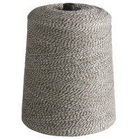 Black and White Variegated Polyester Cotton Blend Baker's Twine 2 lb. Cone