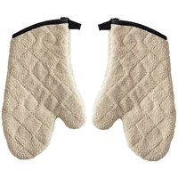 SafeMitt 13 inch Terry Oven Mitts with Steam Barrier