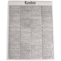 Bagcraft Papercon 300388 16 inch x 12 inch Newsprint Deli Sandwich Wrap Paper - 4000 / Case