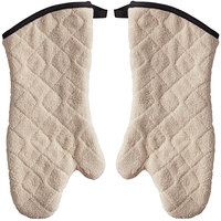 SafeMitt 17 inch Terry Oven Mitts with Steam Barrier