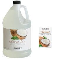 Narvon 1 Gallon Coconut Slushy Syrup - 4/Case