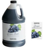 Narvon 1 Gallon Grape Slushy Syrup - 4/Case