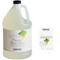 Narvon 1 Gallon Neutral Slushy Syrup - 4/Case