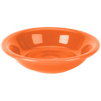 Homer Laughlin 459338 Fiesta Poppy 6.25 oz. China Fruit Bowl / Monkey Dish   - 12/Case