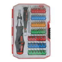 Olympia Tools 76-523-N12 53-Piece Tool Set with Clear Plastic Case