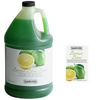 Narvon 1 Gallon Lemon Lime Slushy Syrup - 4/Case