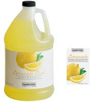 Narvon 1 Gallon Lemonade Slushy Syrup - 4/Case