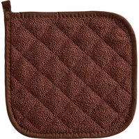 Choice 8 inch x 8 inch Terry Cloth Pot Holder - 12/Pack