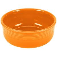 Homer Laughlin 576325 Fiesta Tangerine 22 oz. China Chowder Bowl - 6/Case