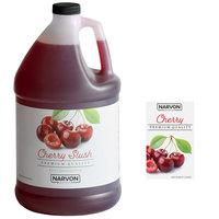 Narvon 1 Gallon Cherry Slushy Syrup - 4/Case