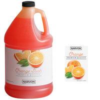 Narvon 1 Gallon Orange Slushy Syrup - 4/Case