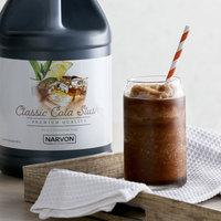 Narvon 1 Gallon Cola Slushy Syrup - 4/Case